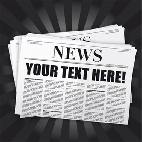 newspaper template ai newspaper ad design free vector 653 free vector