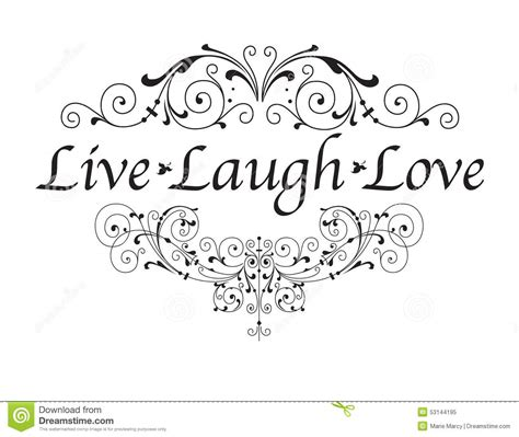 live laugh love art live laugh love stock vector illustration of quotes
