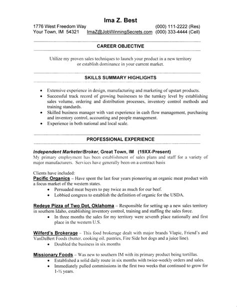 Layout Of A Resume by Resume Layout Resume Cv