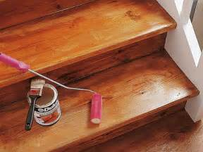 treppe lackieren holz treppenstufen neu lackieren kreatif zu hause