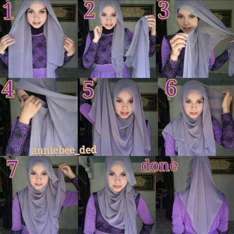 tutorial pashmina lilit leher 34 tutorial mudah pemakaian tudung shawl dan selendang