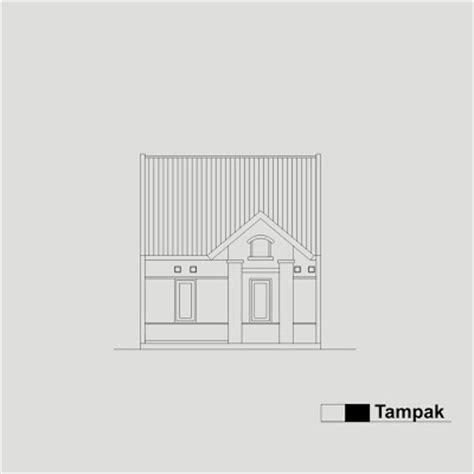 contoh sketsa gambar bangunan rumah type 36 konstruksi bangunan kbg 1