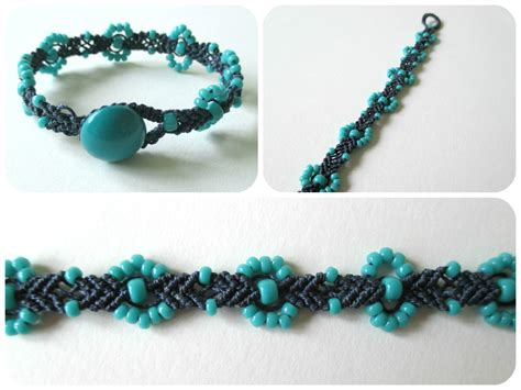 How To Do Macrame Bracelet - nettynot craft nettynot s wonderful world of crafty