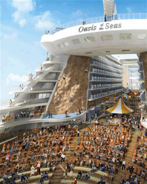 titanic biggest boat garfield the quot oasis of the seas quot the biggest boat of all