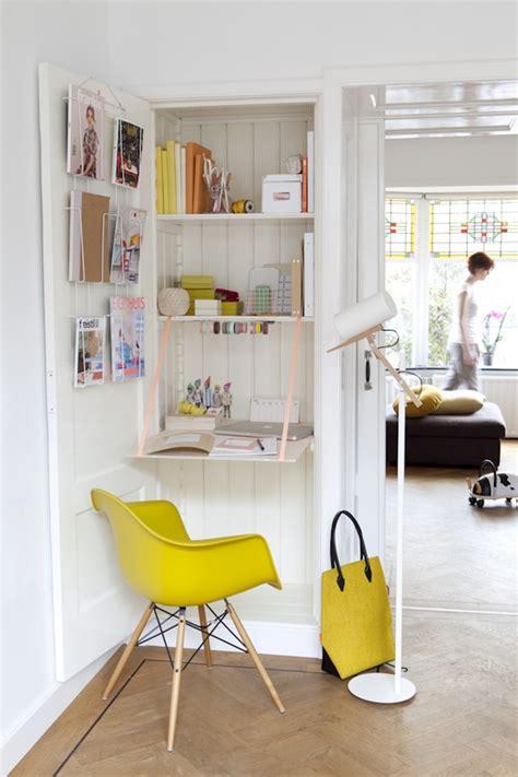 bureau dans placard 12 id 233 es d 233 co insolites pour un petit bureau chez soi