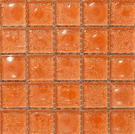 glass tile orange kitchen tiles orange sicle