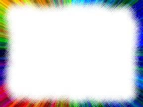colorful borders frame multi color rainbow lines free images at clker