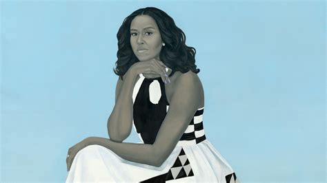the mystery of amy sherald s portrait of michelle obama