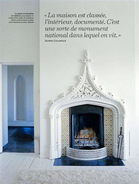 Tudor Style Fireplace by Fireplaces Shape Bohemian Chic Black White Miniatures