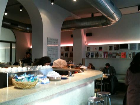 design library cafe milano italian trend contemporary design bookshop cafe s