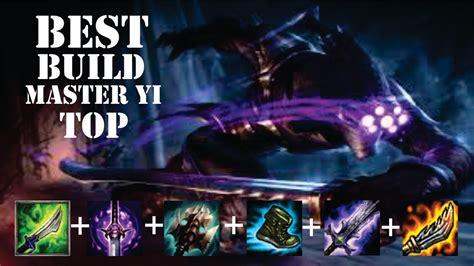 Master Ads 10 Item Bonus best build master yi top season 6