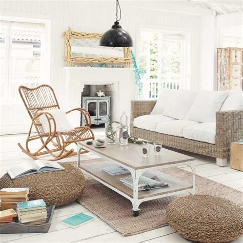 Chaise Design Bascule #3: Rocking-chair-bois-coussin-blanc-salon-mobilier-rotin.jpg