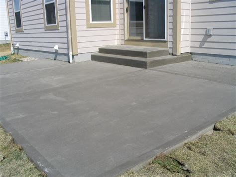 inspirations concrete patio finishes ideas with concrete