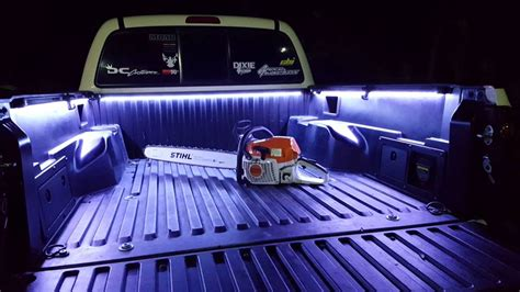 truck bed led light strip toyota truck bed led strip lights underglow for toyota