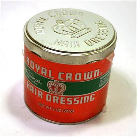Pomade Royal Crown royal crown hair dressing 8 oz sivletto