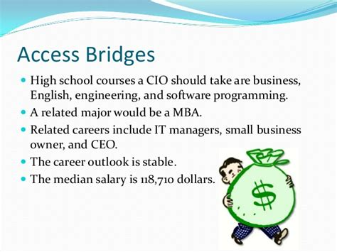 Computer Science And Mba Salary by My Career It Manager