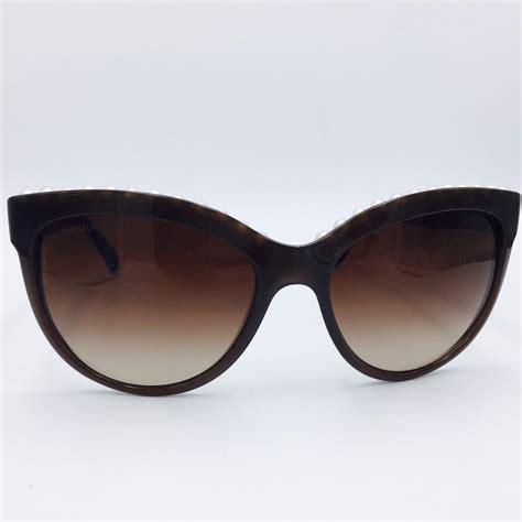 Chanel Sahrini Brown 1 chanel cat eye pearl brown sunglasses