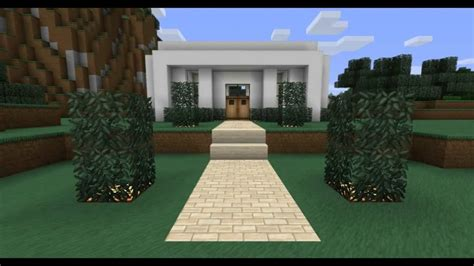 minecraft house designs modern minecraft modern house design youtube