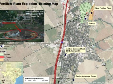 west texas explosion map yale tulane esf 8 moc special report west texas fertilizer plant ex