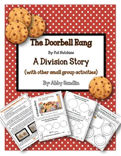 the title the story of the division books the doorbell rang a divisi by abby sandlin teachers