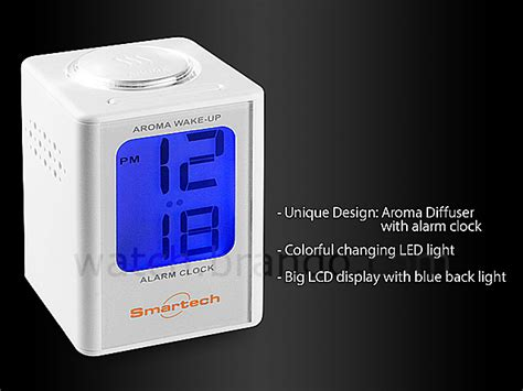 usb mini luminous aroma alarm clock
