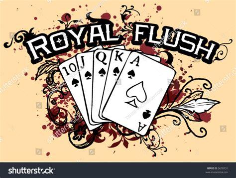 Royal Mail Address Finder Free Grunge Floral Royal Flush Stock Vector Illustration 5678731