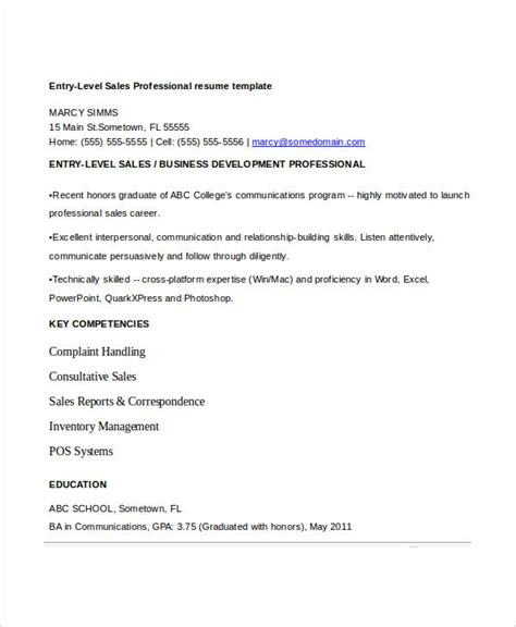 entry level assistant resume sles 8 sle sales assistant resumes free sle exle