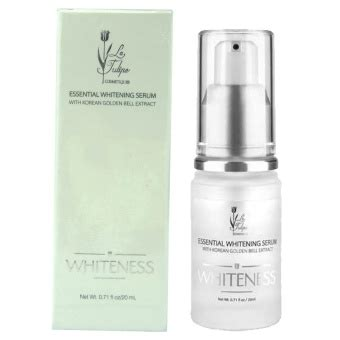 la tulipe whiteness essential whitening serum