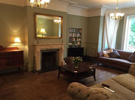 Period Living Room With A Period Living Room Or Lounge In Farrow And