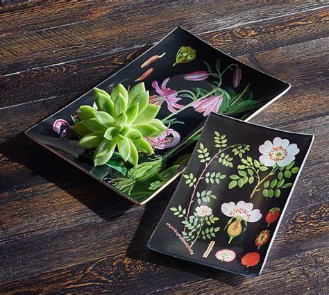 Decoupage Tray - botanical decoupage tray pottery barn