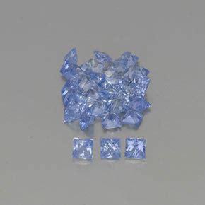 Blue Safir Sapphire 2 6ct blue sapphire 2 6ct square from sri lanka gemstones