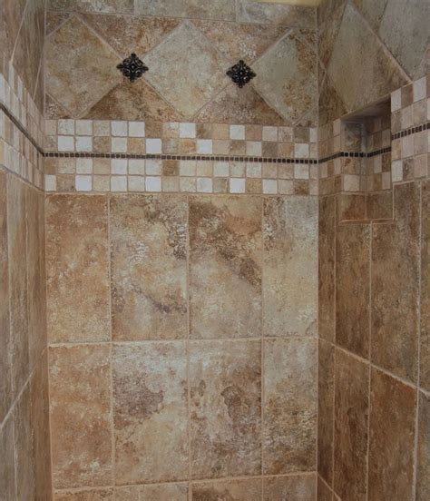 Ceramic Tile Bathroom Tile Pattern Ideas Neutral Bathroom Ceramic Tile Design Ideas Gallery Serbagunamarine