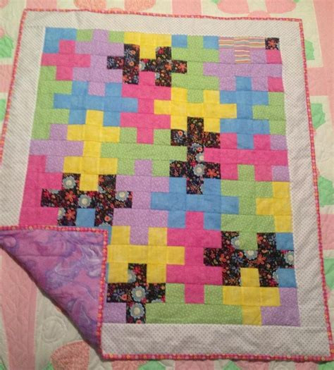 Quilting Puzzles by Puzzle Quilt Baby Quilts
