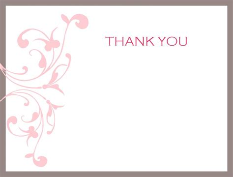 Thank You Templates thank you card awesome collection thank you cards