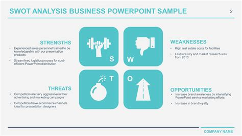 Free Download Business Swot Analysis Powerpoint Templates Swot Matrix Template Powerpoint