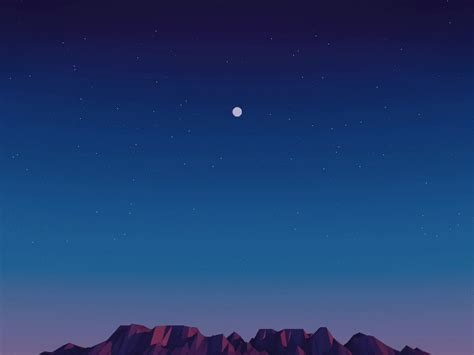 house gif moon desert gif by allison house find share on giphy