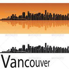 doodlebug vancouver vancouver skyline outline to doodle just doodle it