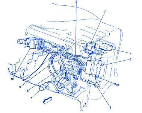 chevrolet blazer   dash electrical circuit