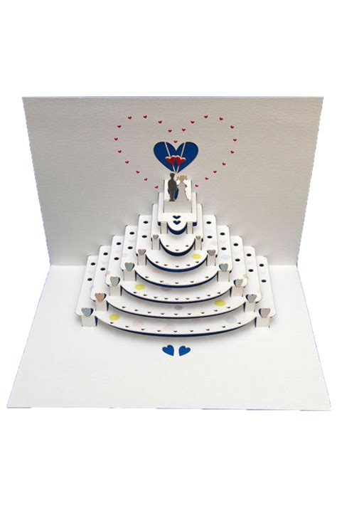 amazing pop up card templates wedding amazing pop up greeting card