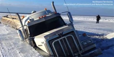 tanker falls  ice  great bear lake chicago tribune