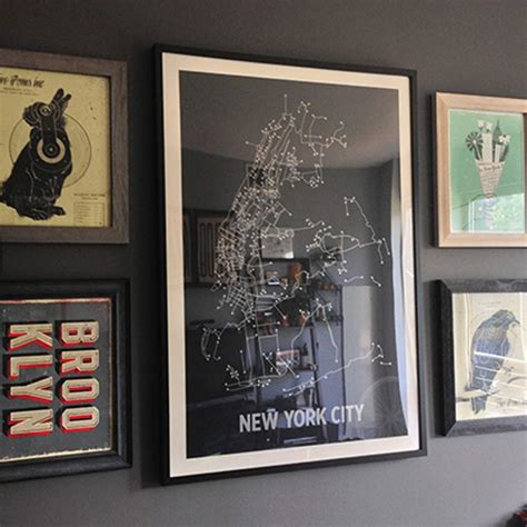 mat framing nyc screen prints artwork poster by