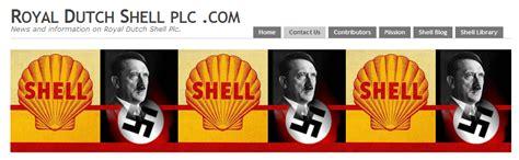 royal dutch shell plc royal dutch shell homepage with nazi symbols royal