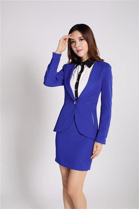 popular royal blue skirt suit buy cheap royal blue skirt