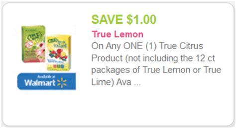 Free Product Sles True Lemon And True Lime by New True Citrus Coupon Kroger Deal Kroger Krazy