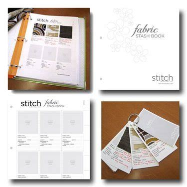 Free Sewing Template Fabric Journal Cover Sew Daily Fabric Swatch Book Template