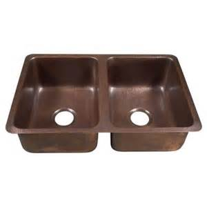 home depot copper sink sinkology da vinci undermount handmade solid copper