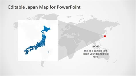 templates powerpoint japan japan map template for powerpoint slidemodel