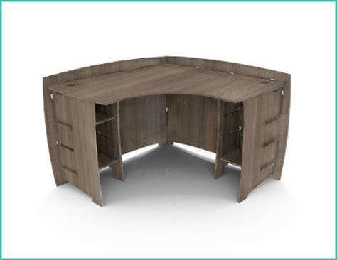 grey corner desk images