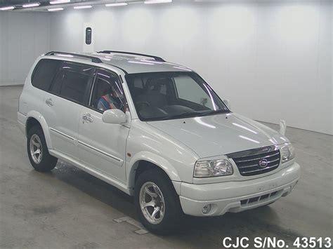 Suzuki Escudo 2002 2002 Suzuki Escudo Grand Vitara Pearl For Sale Stock No