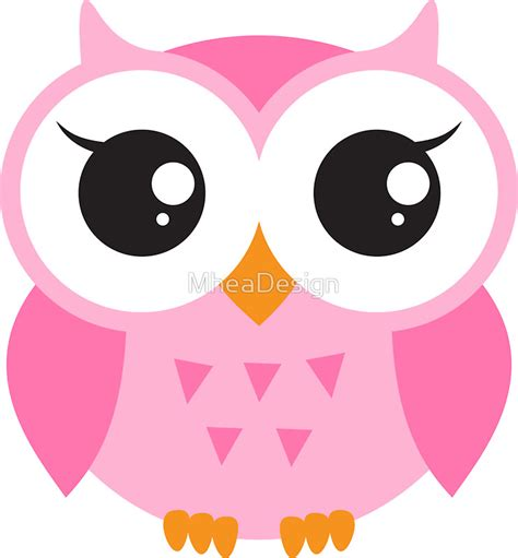 Iphone Home Button Decoration owl cartoons stickers redbubble